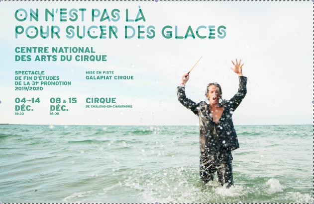 """Affiche """"On n'est pas là pour sucer des glaces"""" - CNAC"""